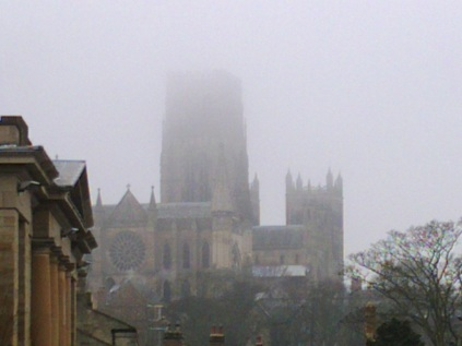 Cathedral through the Morning Mist