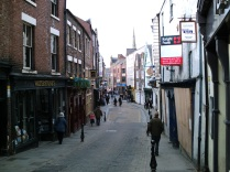 View Down Saddler Street